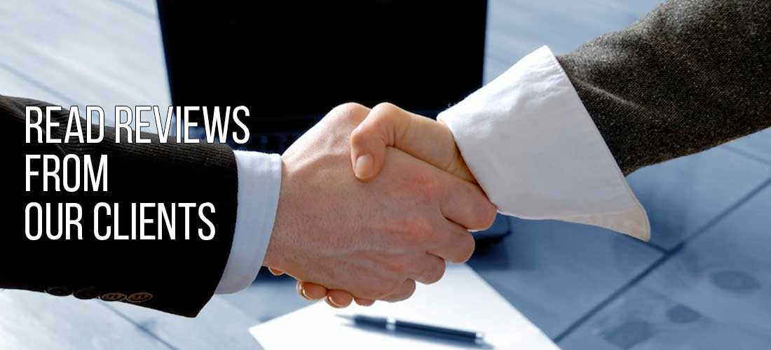 Lawyers shaking hands after settling at mediation